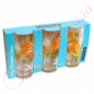 Стаканы Pop Flowers Orange 300 высокие