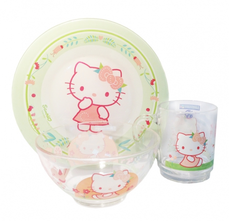 Детский набор Hello Kitty 3 пр. картон